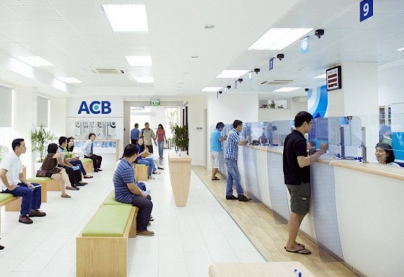 Giờ làm việc ngân hàng ACB