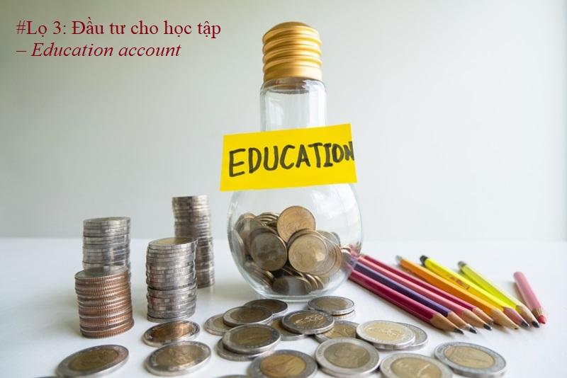 Đầu tư cho học tập là một phần quan trọng giúp bạn nâng cao tri thức để phát triển hơn trong tương lai