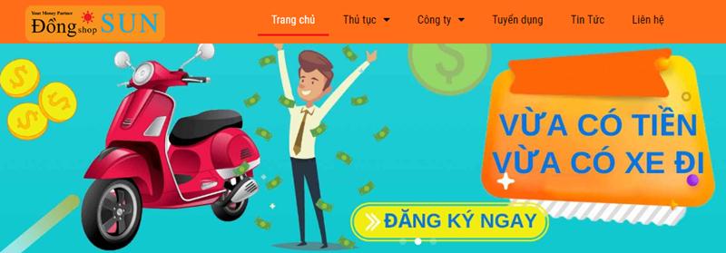Cầm cavet xe máy tại Đồng Shop Sun với lãi suất chỉ từ 0.85%