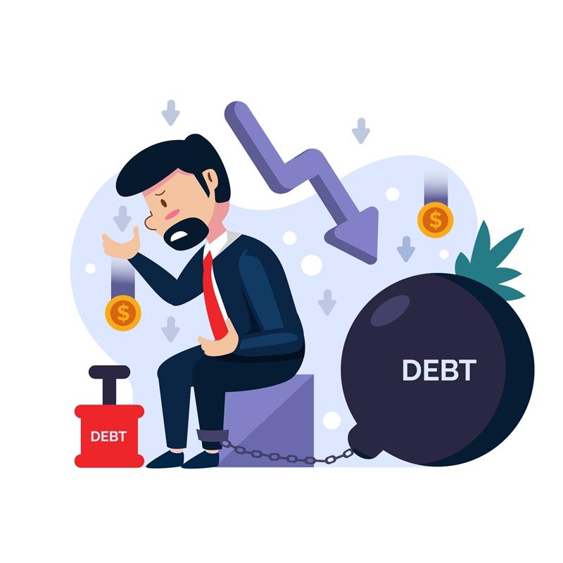 Dư nợ là số tiền gồm cả gốc và lãi bạn phải thanh toán cho ngân hàng