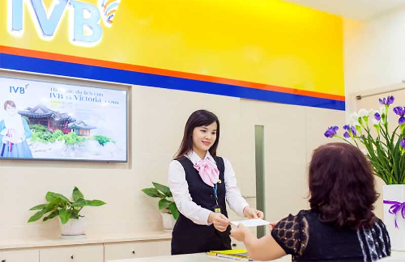 Các sản phẩm dịch vụ được ngân hàng IVB cung cấp đầy đủ nhanh chóng