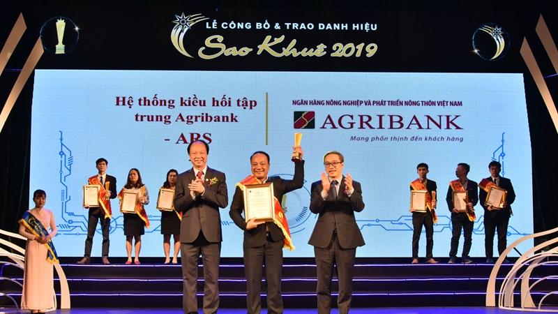 Ngân hàng Agribank là được vinh danh ở nhiều hạng mục khẳng định thương hiệu uy tín