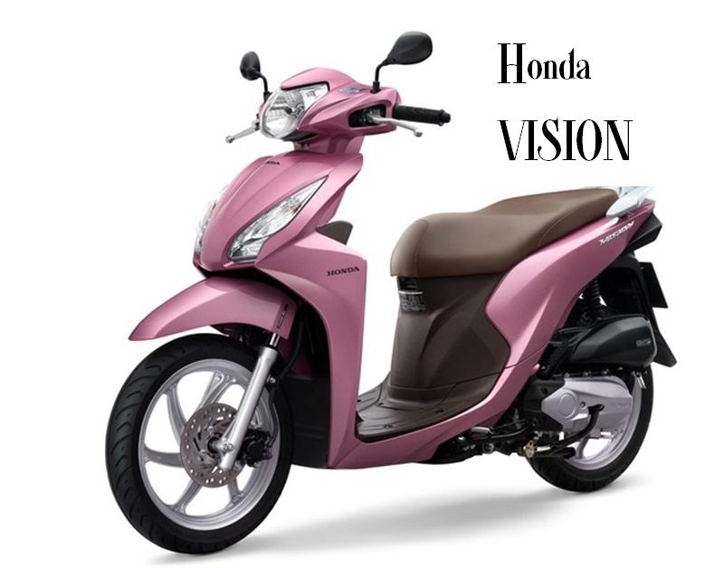 Honda Vision trẻ trung