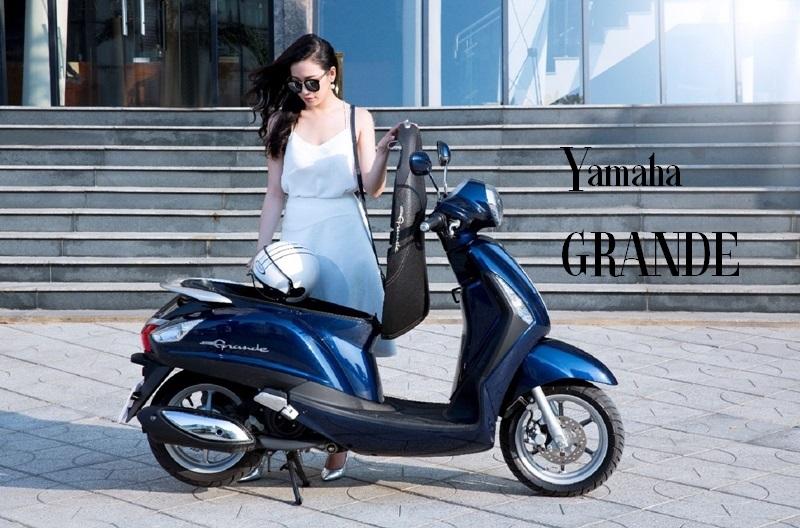 Yamaha Grande ngọt ngào bật nét nữ tính
