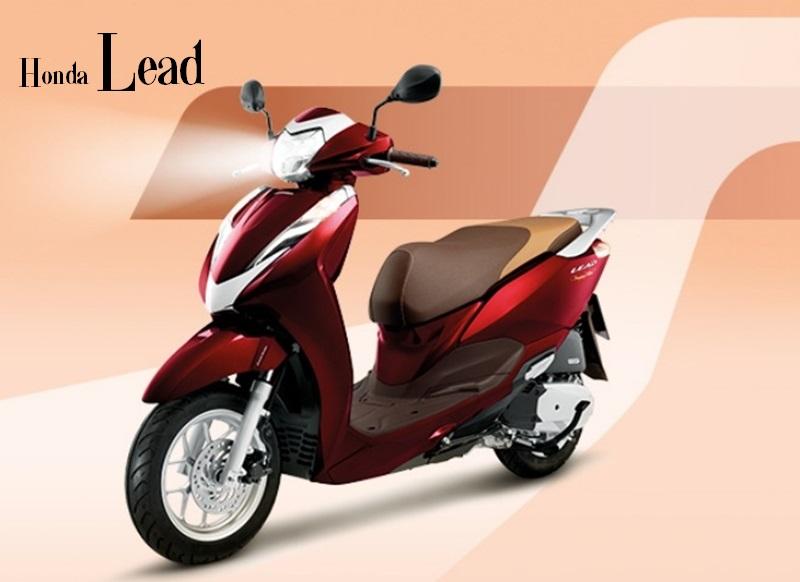 Honda Lead với thiết kế đơn giản tinh tế