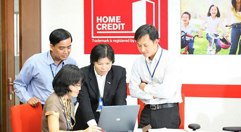 Hom Credit một trong những công ty tài chính có hỗ trợ vay mua trả góp cho nơ xấu nhóm 1 và 2