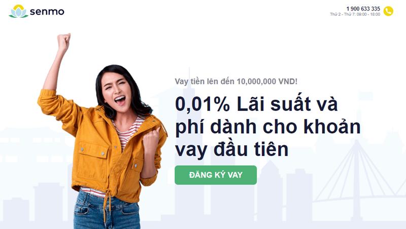 Senmo là dịch vụ vay tiền online đến từ tổ chức tài chính Gofingo hàng đầu Châu Á