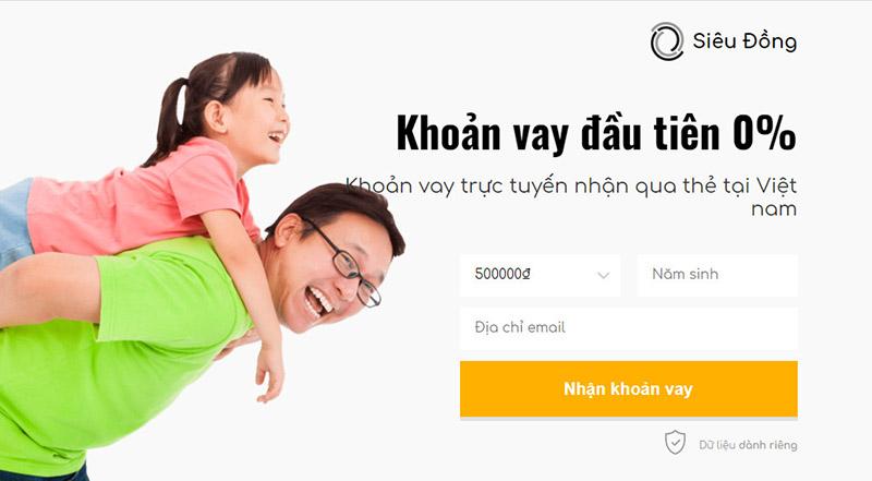 Cùng Siêu Đồng vay 3 triệu online chỉ với 5 phút