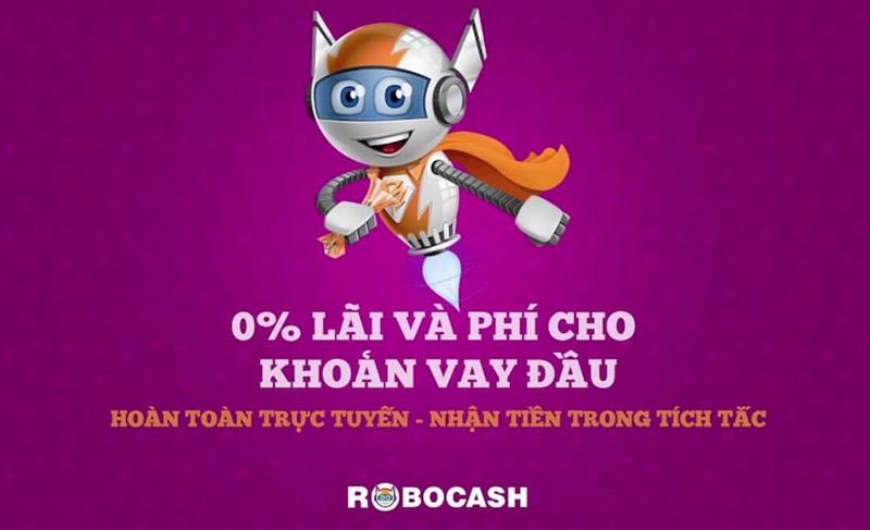 Robocash vay tiền 5 triệu với tỉ lệ duyệt lên đến 95%